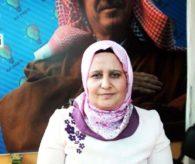 AK Parti Harran İlçe Kadın Kolları Başkanı Huriye Biter,