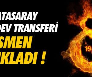 Galatasaray iki dev transferi açıkladı !