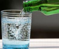 Maden suyunu bardakta içmeyin!..