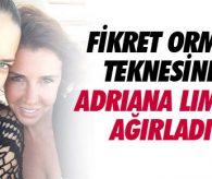 Orman teknesinde Adriana Lima'yı ağırladı !