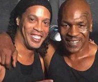 Ronaldinho ve Mike Tyson aynı filmde !