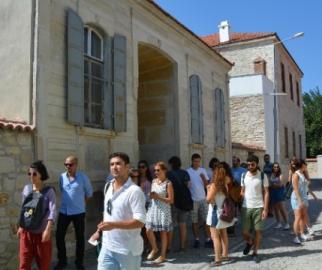 Sanat Elçisi Türk ve Yunan Öğrenciler Söke'de