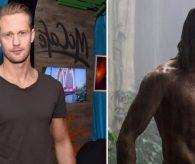 Tarzan'a benzemek için bunu yaptı!
