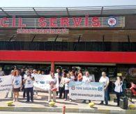 Türk Sağlık Sen: Başbakan Acilleri Ziyaret Etsin