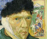 Van Gogh kulağının tamamını kesmiş