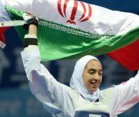 İranlı Kadın Sporcudan Tarihi Başarı