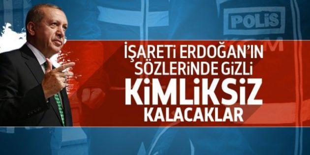 Erdoğan: Bu milletin vatandaşı olarak anılmayacaklar