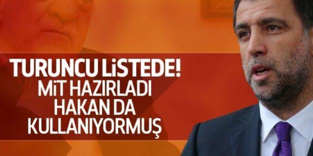 Hakan Şükür ByLock'ta turuncu listede