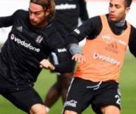 Beşiktaş basına kapalı çalıştı