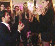 Burak Özçivit, Fahriye Evcen'e evlenme teklif etti