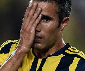 Van Persie Trabzonspor maçında yok