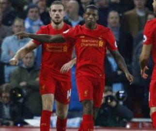 Dev maçta gülen Liverpool